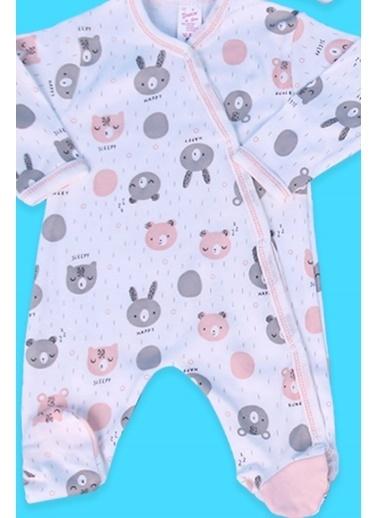 Breeze Kız Bebek Hastane Çıkışı 8 Li Ayıcıklı Tavşanlı Somon (0-3 Ay) Somon